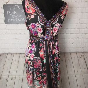 I.C.E Dresses - I.C.E. Floral Dress Sz 12 E15